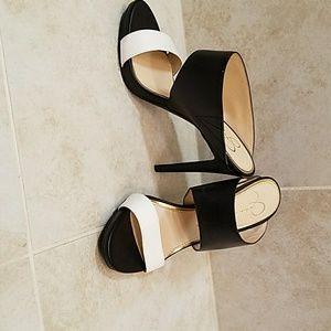Jessica Simpson slip on heels